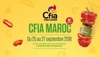 Le Carrefour des Fournisseurs de l'Industrie Agroalimentaire vous donne rendez-vous  du 25 au 27 septembre 2018 à Casablanca.
