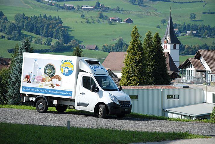 La Suisse est le pays  du fromage et des pâturages, comme ici à Entlebuch, au centre du pays, zone protégée par l'Unesco. Photo: Antoine Hervé